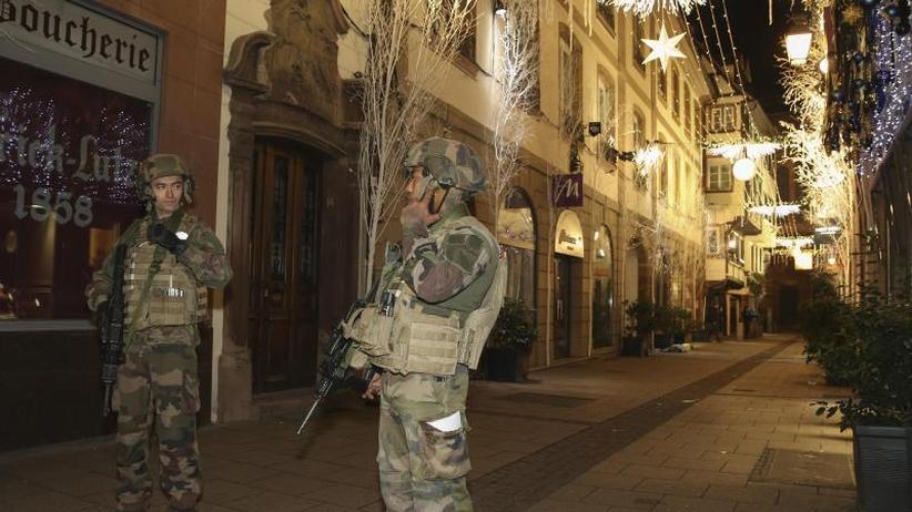 """Krisenmanager Macron gefragt: Straßburg: Terroralarm in der """"Weihnachtshauptstadt"""""""