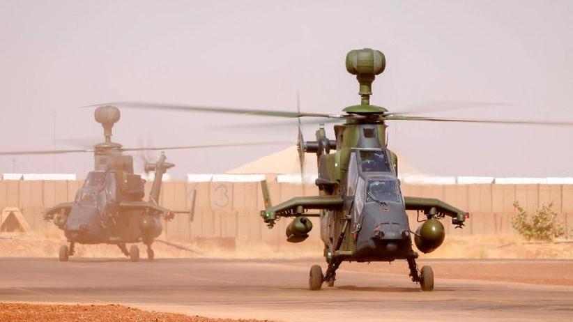 """Panne bei Rotorsteuerung: Wartungsfehler soll """"Tiger""""-Absturz in Mali verursacht haben"""