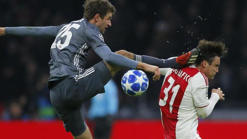 """Champions League: FC Bayern: Reue und Stolz - Gegner """"gehupft wie gezupft"""""""