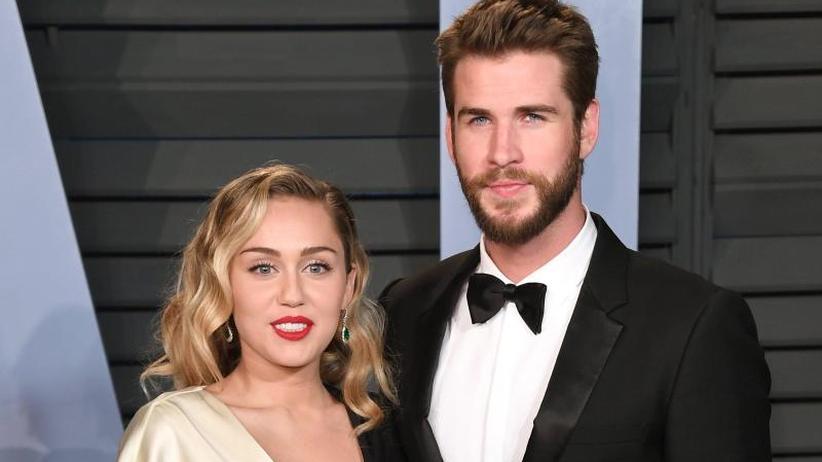 Waldbrände in Kalifornien: Miley Cyrus schwärmt von Liam Hemsworth