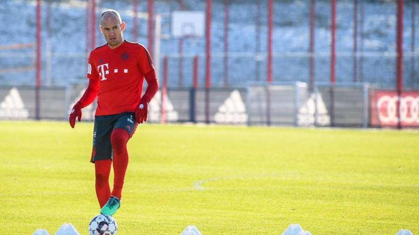 """Beschwerden am Muskelansatz: """"Alles wichtig"""" für FC Bayern - Robben fehlt im Endspurt"""