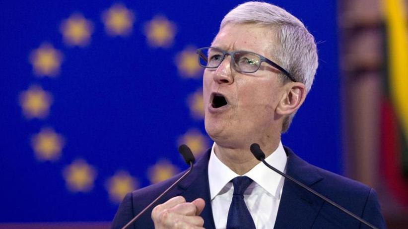 Cook sorgt sich: Apple-Chef: Datenhunger könnte Meinungsfreiheit bedrohen