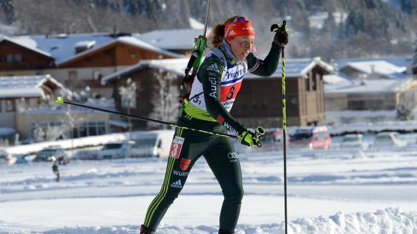 """Biathlon-Star: Dahlmeier nach Comeback: """"Könnte nicht schöner sein"""""""