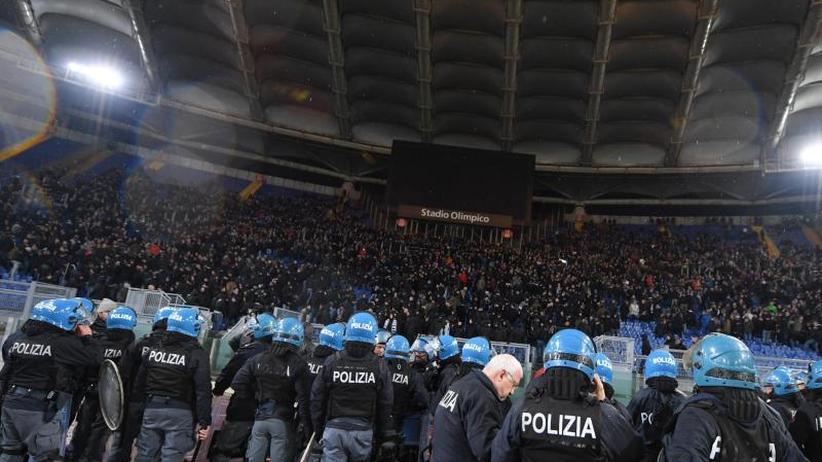 Europa League: Krawalle in Rom: Schatten auf historischem Eintracht-Sieg