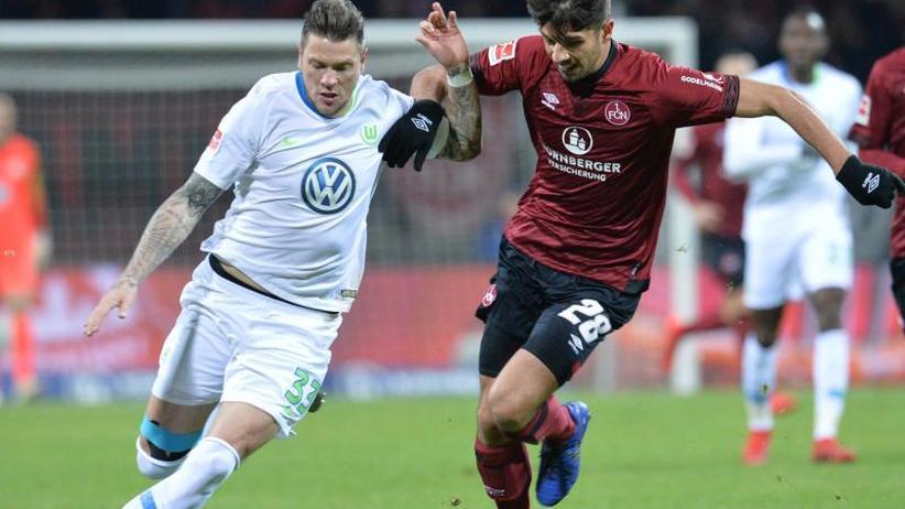 Bundesliga am Freitag: VfL Wolfsburg setzt Aufschwung in Nürnberg fort