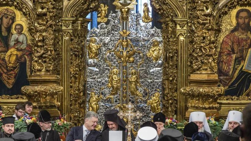 Abspaltung von Russland: Orthodoxe Nationalkirche in der Ukraine gegründet