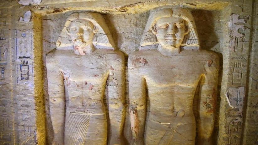 Fünfte Dynastie: Archäologen entdecken 4400 Jahre altes Priestergrab