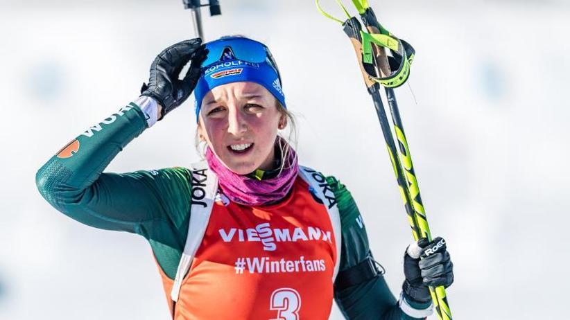 Weltcup in Österreich: Biathlon-Frauenstaffel in Hochfilzen auf Platz sieben