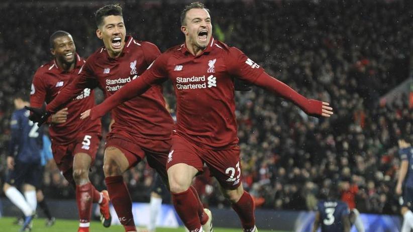 Premier League: Liverpool siegt 3:1 - Hasenhüttl stoppt Arsenal