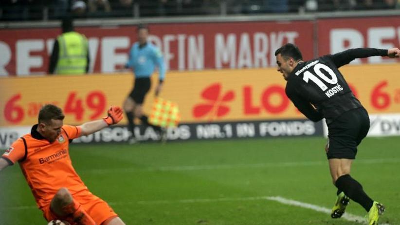 15. Spieltag: Sieg mit Volldampf: Frankfurt gewinnt 2:1 gegen Bayer