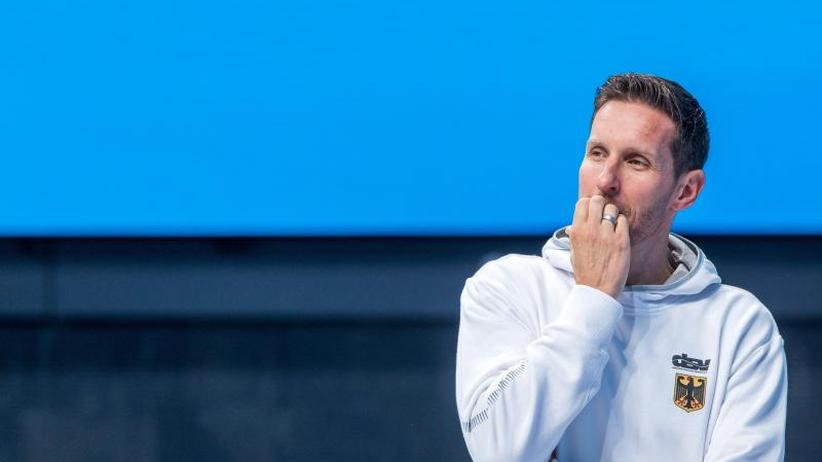 Scheidender Cheftrainer: Lambertz warnt vor schwierigen Zeiten im deutschen Schwimmen