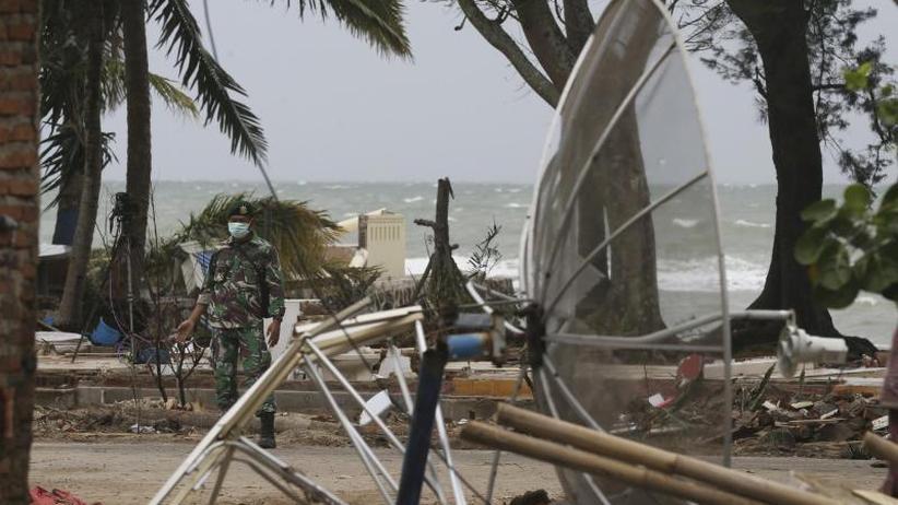 Küsten ohne Warnung getroffen: 40.000 Indonesier sind nach Tsunami vorerst ohne Zuhause
