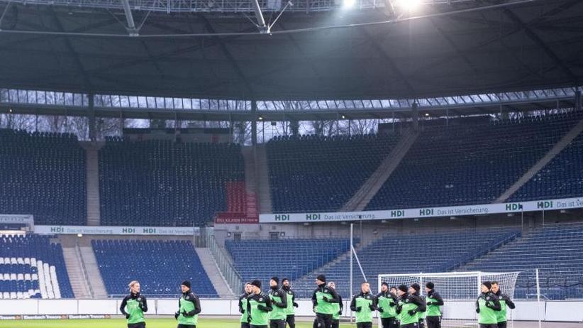 Training statt Urlaub: Hannovers Rückrunden-Vorbereitung hat begonnen
