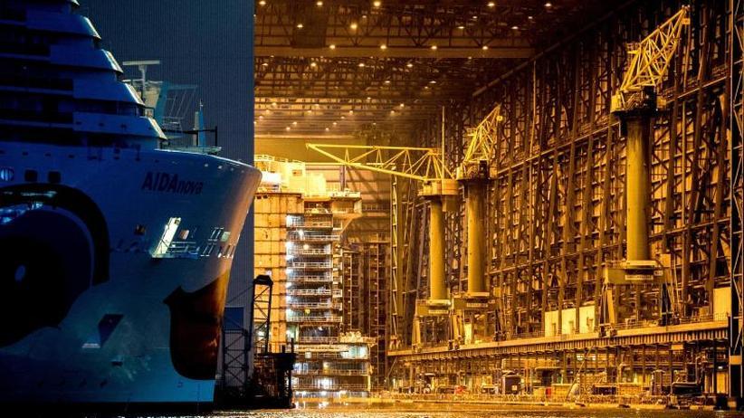 Gute Auftragslage: Meyer Werft liefert ab 2019 drei Schiffe pro Jahr