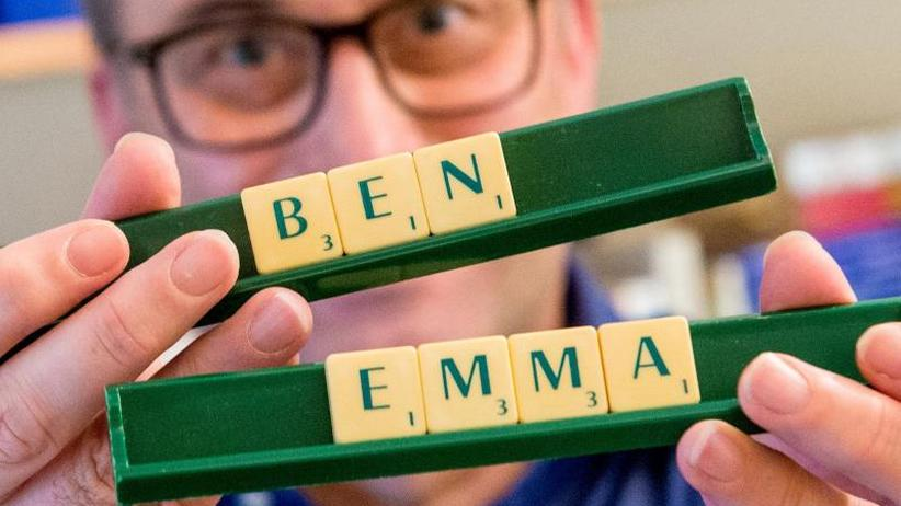 Wenig Veränderung: Top Ten der Vornamen 2018: Emma und Ben weiter vorn