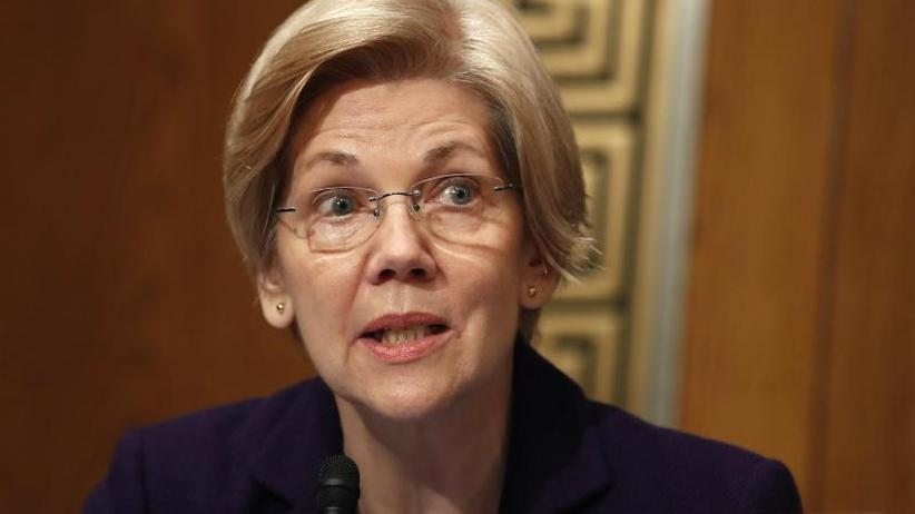 Präsidentenwahl 2020: Demokratin Warren will gegen Trump antreten
