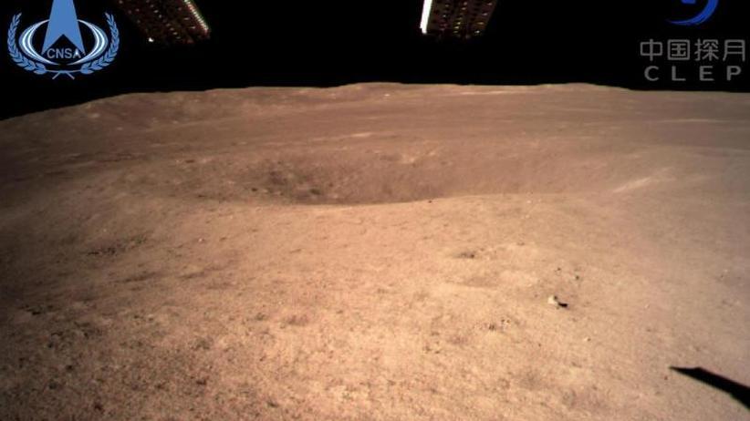 """Weltraumnation China: """"Chang'e 4"""": Erste Landung auf Mond-Rückseite geglückt"""