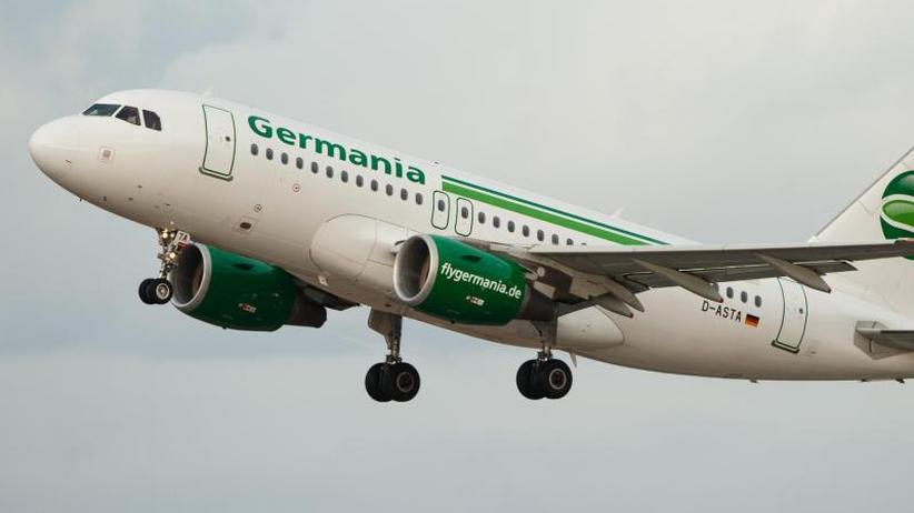 Verkauf denkabr: Airline Germania in Finanznot - Flugbetrieb geht weiter