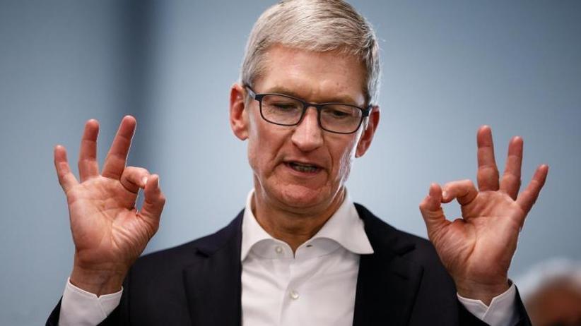 Bonus: Apple-Chef Tim Cook steigert Gehalt kräftig