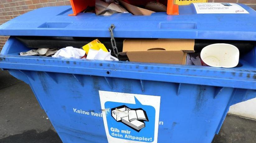 Ohne Ende Kartons: Online-Shopping führt zu mehr Anteil im Altpapier