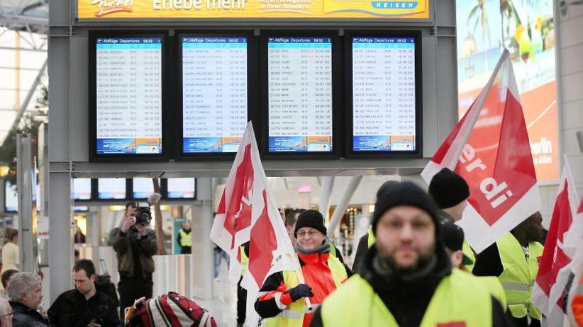 Flugausfälle drohen: Verdi setzt an drei Airports auf Warnstreiks