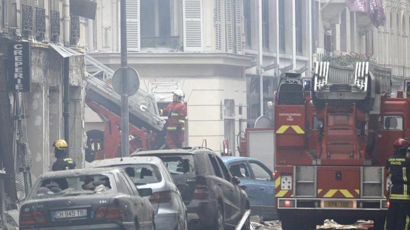 Gasleck in Bäckerei?: Tote und Dutzende Verletzte nach Explosion in Paris