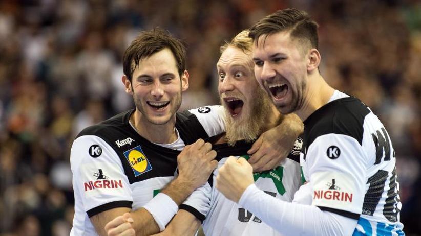 Handball-WM: Nach dem zweiten Schritt: Handballer mit Fokus auf Russland