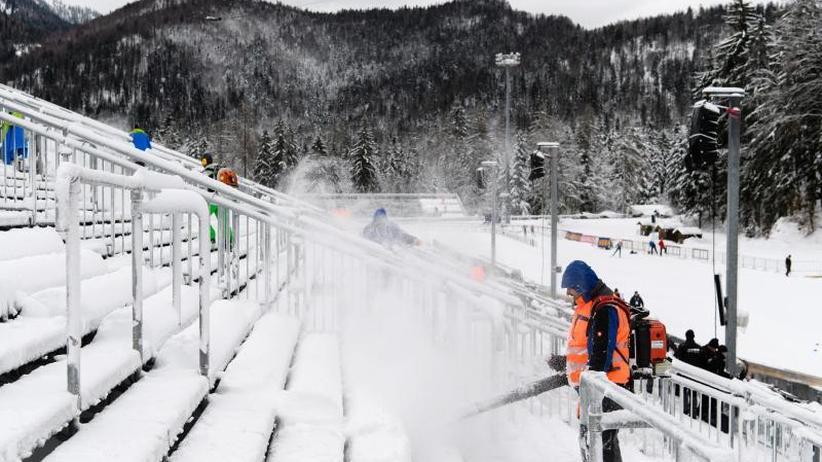 Trotz Schnee-Chaos: Ruhpoldinger Biathlon-Weltcup findet am Donnerstag statt