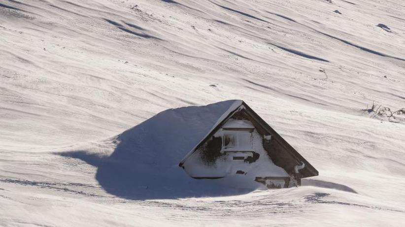 """Winter war bisher sehr mild: Wetterdienst: Schneemenge war nicht """"außergewöhnlich"""""""