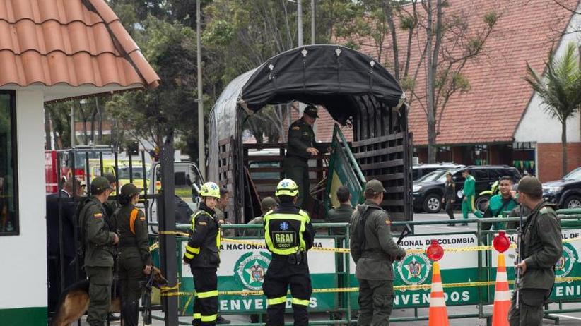 Rückkehr des Terrors: 21 Tote bei Bombenanschlag auf Polizeiakademie in Kolumbien