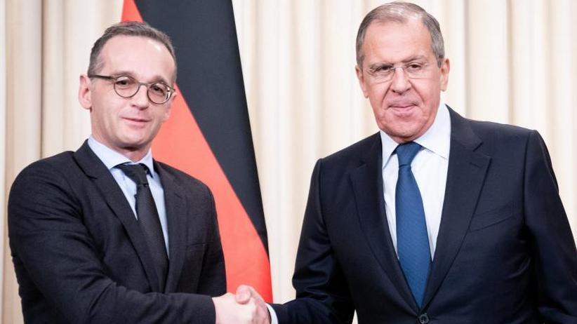 INF-Vertrag, Ukraine, Syrien: Heikle Themen bei Besuch von Heiko Maas in Moskau