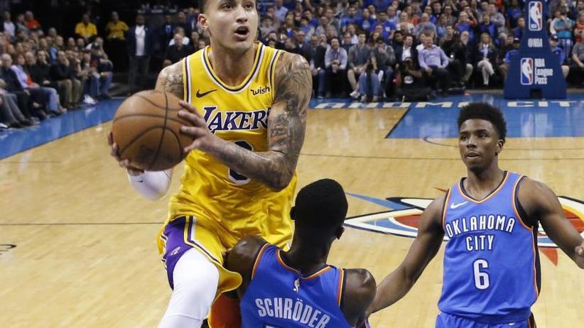 NBA: Pleite für Schröder mit Oklahoma gegen Los Angeles