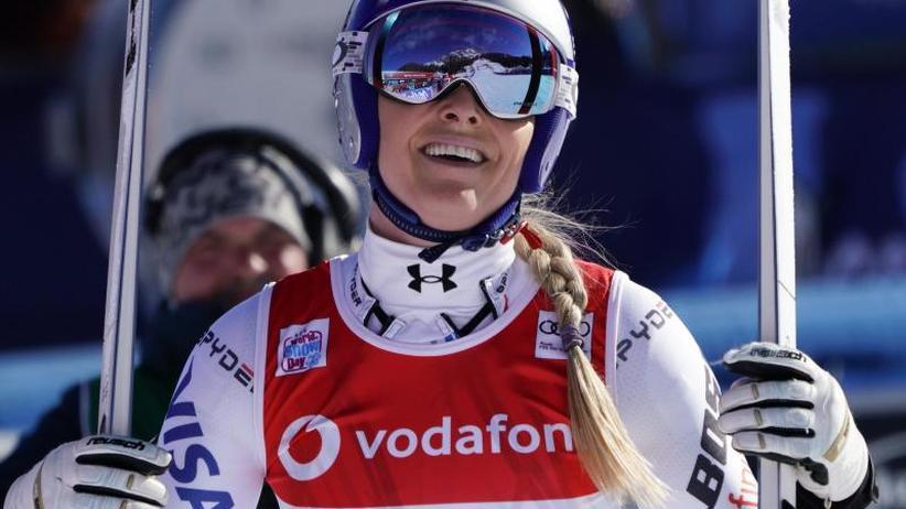 """Weltcup in Cortina d'Ampezzo: US-Skistar Vonn """"nicht happy"""" mit Rang 15 beim Comeback"""