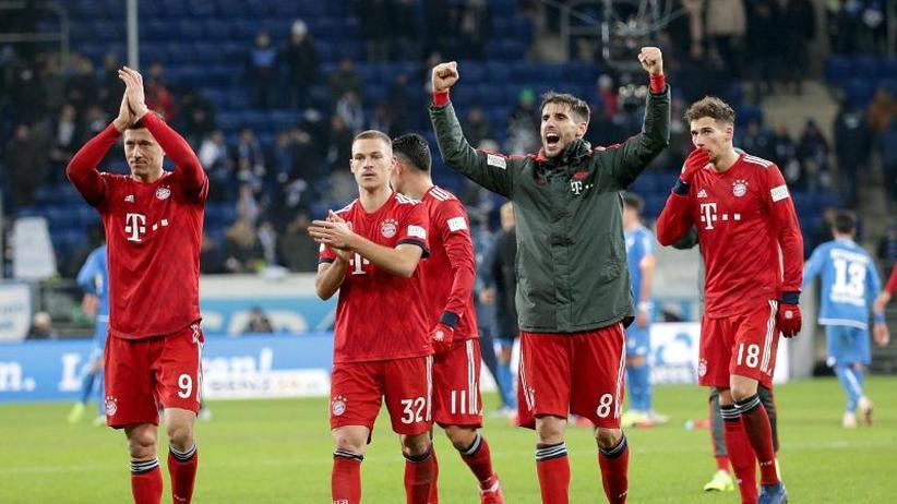 """3:1 in Hoffenheim: Bayern eröffnet Jagd auf den BVB:""""Wir sind da"""""""