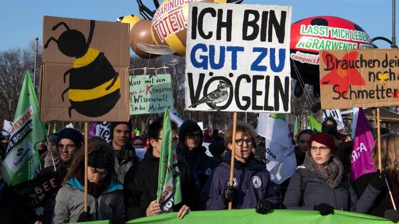 Agrarwende: Demo für klimafreundliche Landwirtschaft in Berlin gestartet