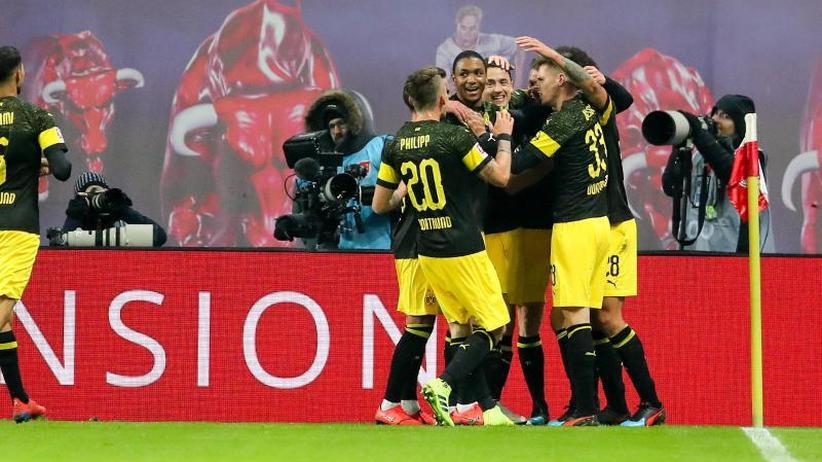 1:0-Sieg für BVB: Dortmund kontert Bayern-Attacke: Sieg in Leipzig