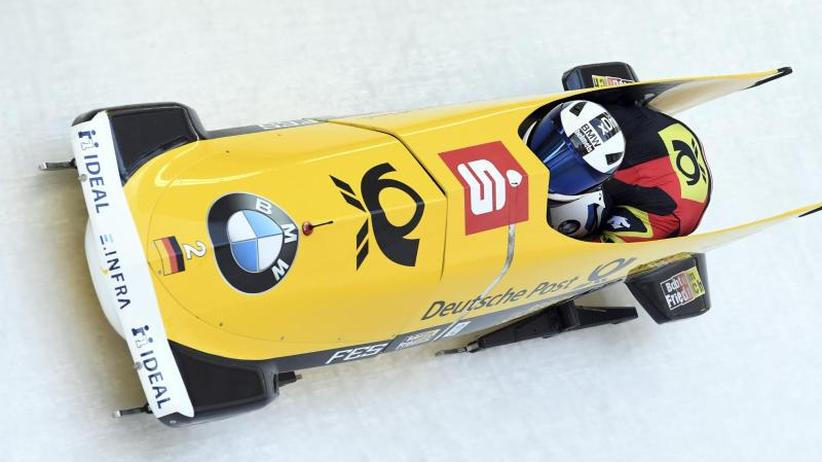 Weltcup in Innsbruck: Friedrich bleibt im Zweierbob ungeschlagen