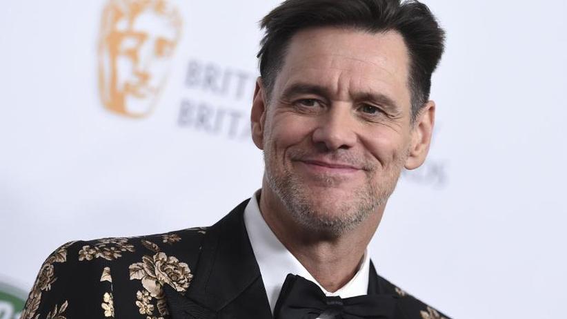 US-Schauspieler: Jim Carrey zeigt politische Cartoons in New York