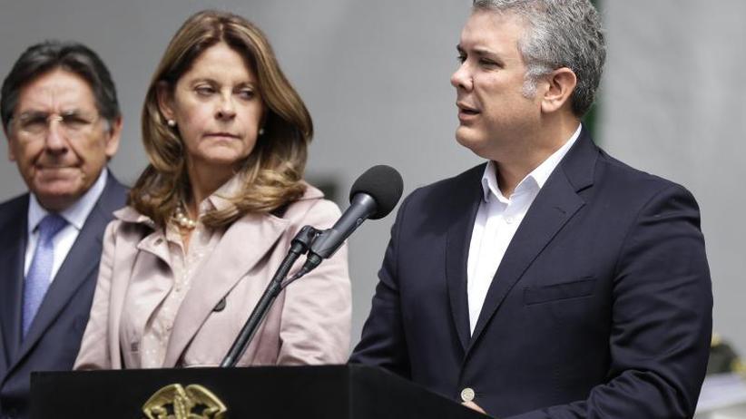 Bombenanschlag mit 21 Toten: Kolumbiens Präsident will nach Anschlag hart vorgehen