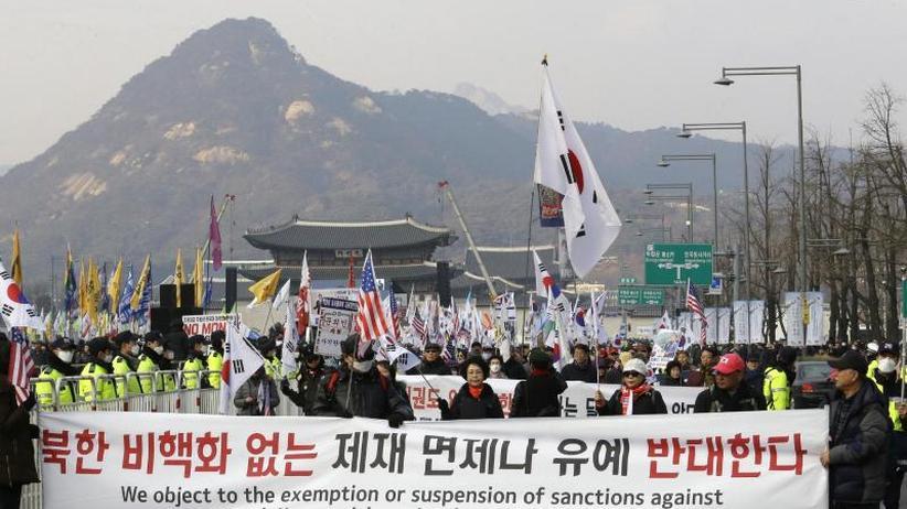 Atomare Abrüstung: Südkorea begrüßt Termin für Trumps Gipfeltreffen mit Kim