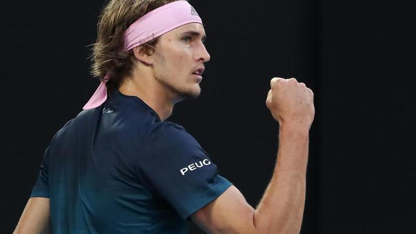 Drei-Satz-Sieg: Zverev erreicht erstmals Achtelfinale der Australian Open