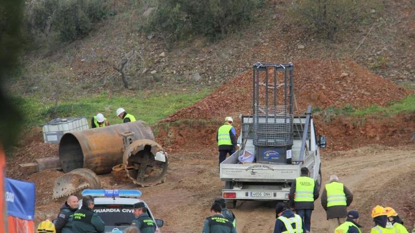 Rettungsdrama in Spanien: Bergung des kleinen Julen: Vertikaler Tunnel ist fertig