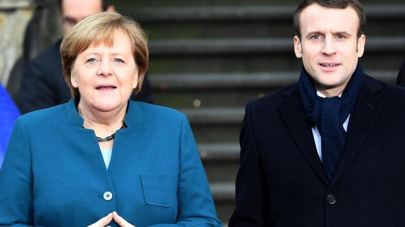 Beziehung Berlin-Paris: Merkel und Macron besiegeln Freundschaftspakt