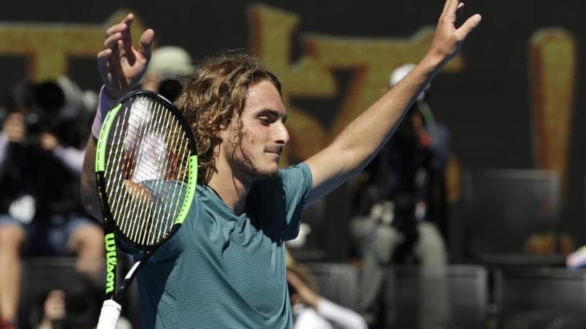 Tennis-Grand-Slam-Turnier: Tsitsipas, Collins und Kvitova im erreichen Halbfinale