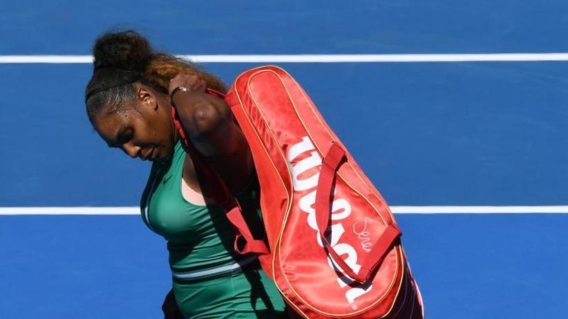 Australian Open: Licht aus: Kein Rekord für Serena Williams in Melbourne