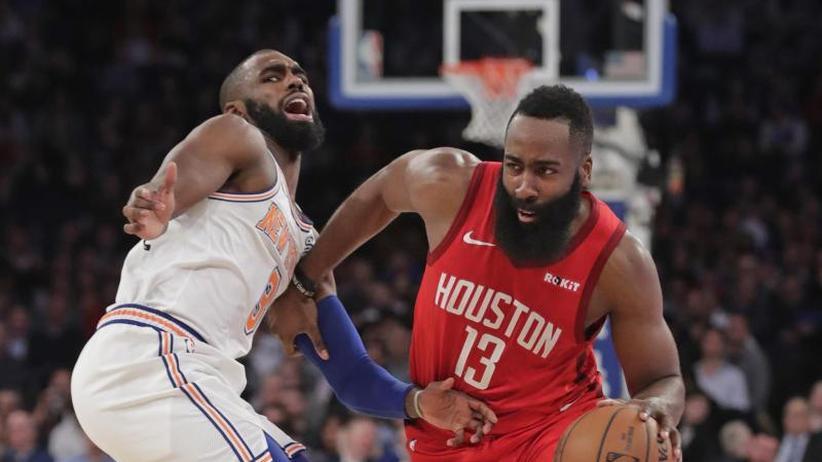 Basketball-Profiliga: 61 Punkte: Gala-Vorstellung von NBA-Star Harden