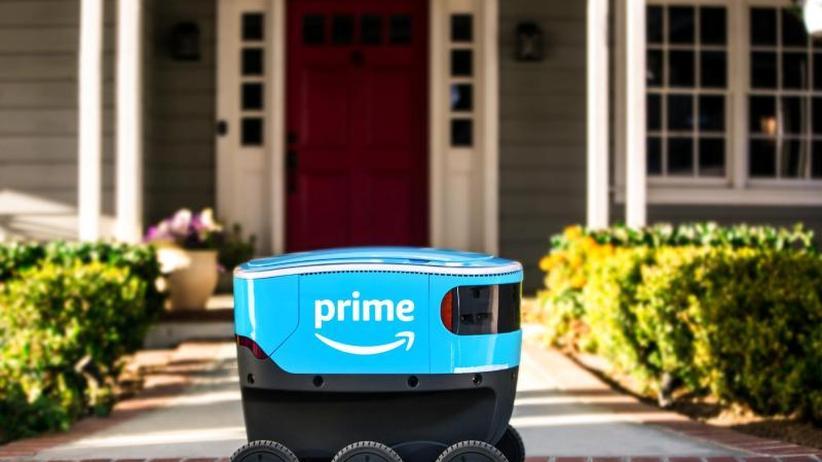 Eigene Entwicklung: Amazon testet Lieferroboter bei Seattle