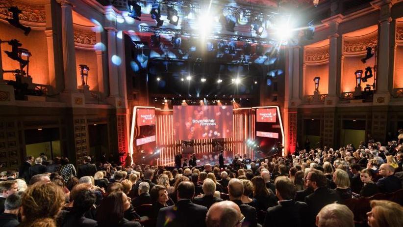 Preisverleihung und Filmball: Deutsche Filmstars feiern in München