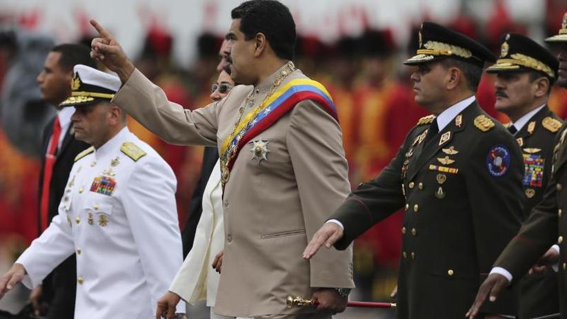 Hintergrund: Experten: Militär in Venezuela ist gespalten
