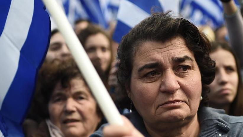 Streit um Namen: Parlament in Athen stimmt über Abkommen mit Mazedonien ab